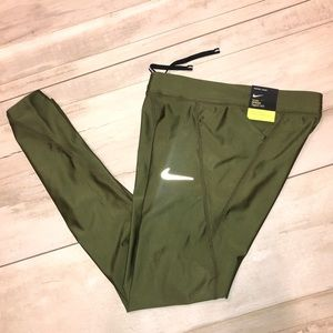 Nike leggings army green military speed tights XS